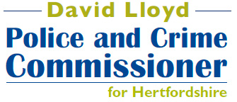 David Lloyd - Police and Crime Commissioner for Hertfordshire
